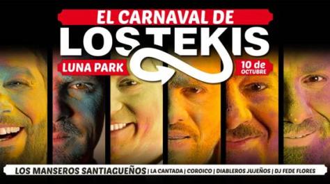 carnaval de los tekis