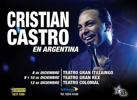cristian castro diciembre