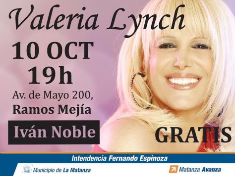 flyer valeria lynch