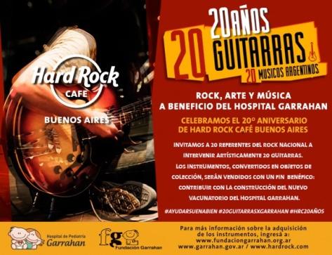20 guitarras