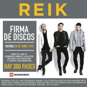reik firma discos